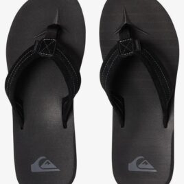 QUIKSILVER, CARVER SUEDE – LEATHER SANDALS